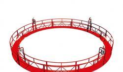 圆形电动吊篮